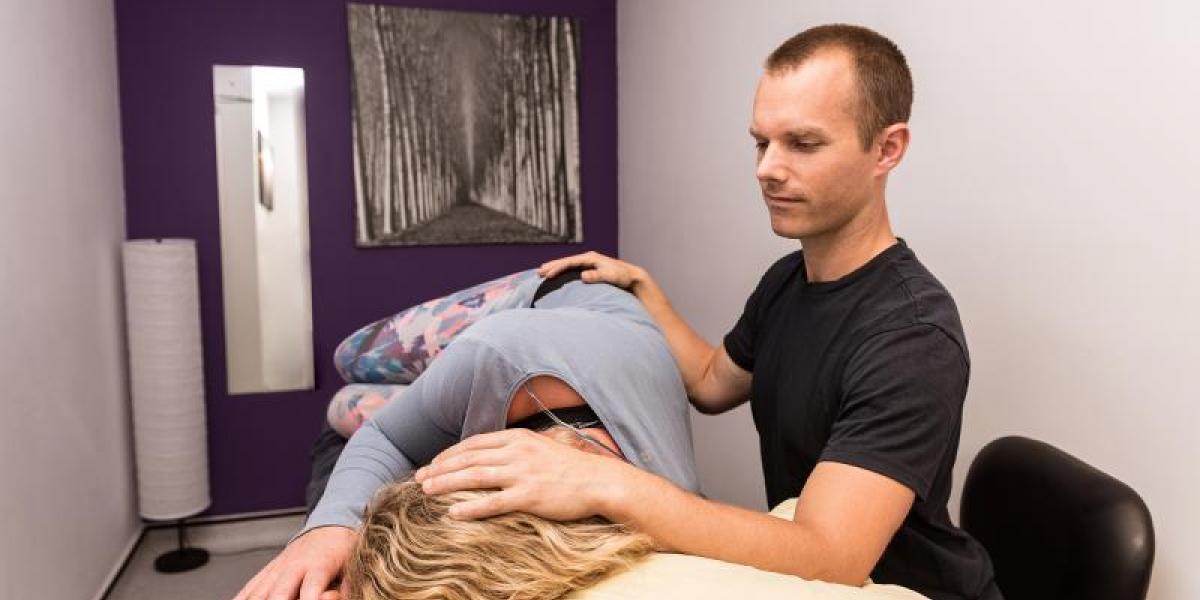 cranio-sacral therapist at Reab