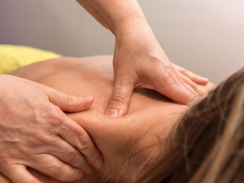 Massage therapist at Reab
